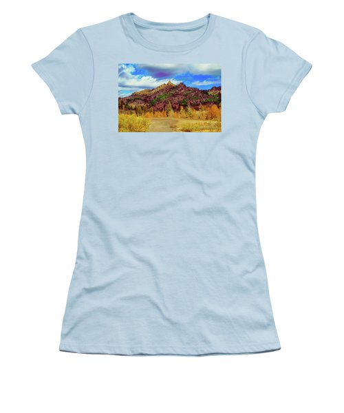 Fall In The Oregon Owyhee Canyonlands  Women's T-Shirt (Junior Cut) by Robert Bales