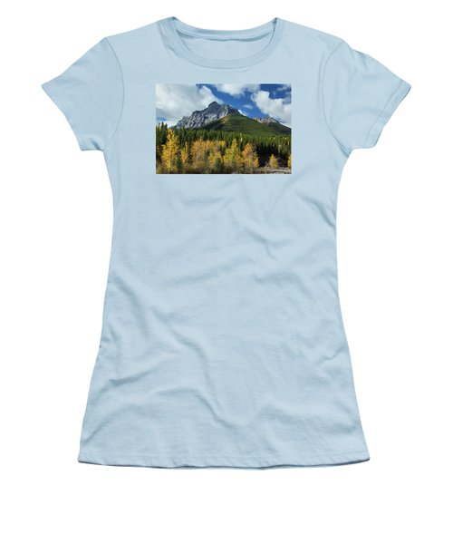 Fall In The Rockies Women's T-Shirt (Athletic Fit)