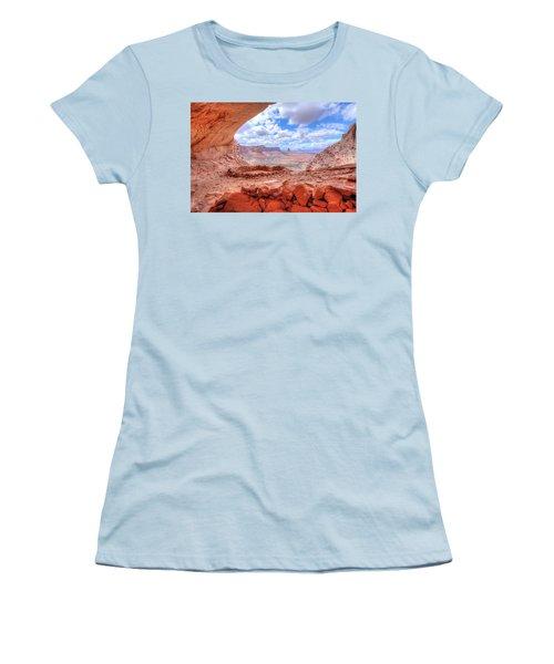 False Kiva Women's T-Shirt (Athletic Fit)