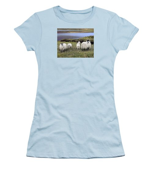 Family Of Sheep Women's T-Shirt (Athletic Fit)