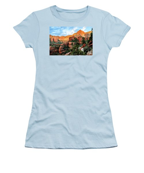 Fay Canyon 07-053 Women's T-Shirt (Junior Cut) by Scott McAllister