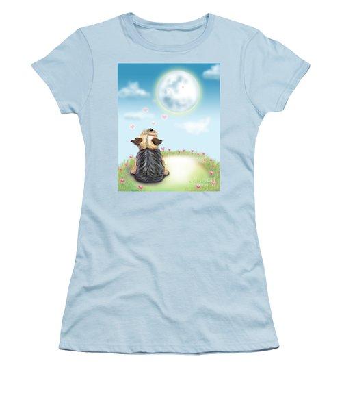 Feeling Love Women's T-Shirt (Junior Cut) by Catia Cho