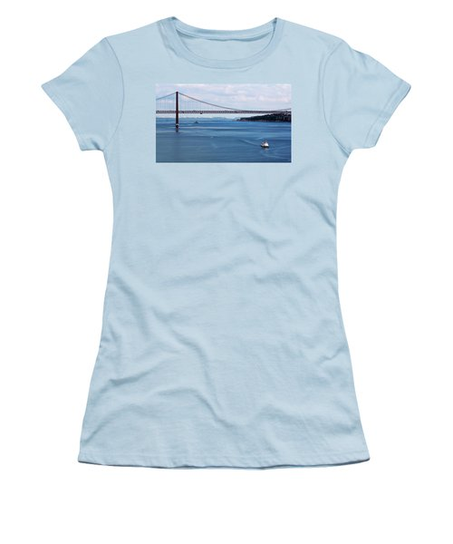 Ferry Across The Tagus Women's T-Shirt (Athletic Fit)