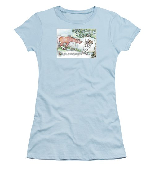 Fickle Creatures Foto Women's T-Shirt (Junior Cut) by Dawn Sperry