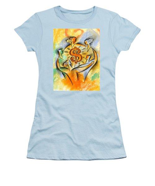 Financial Success Women's T-Shirt (Athletic Fit)