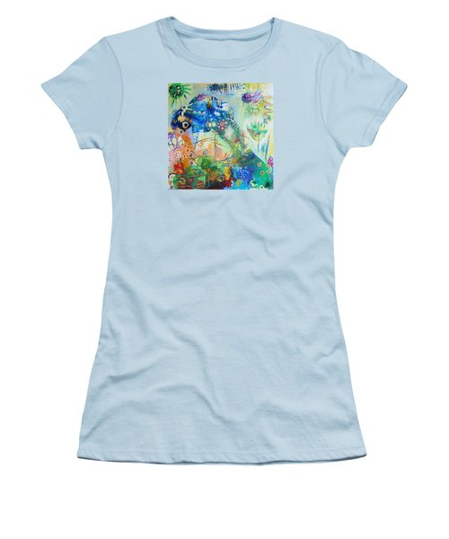 Seahorse Folly Women's T-Shirt (Athletic Fit)