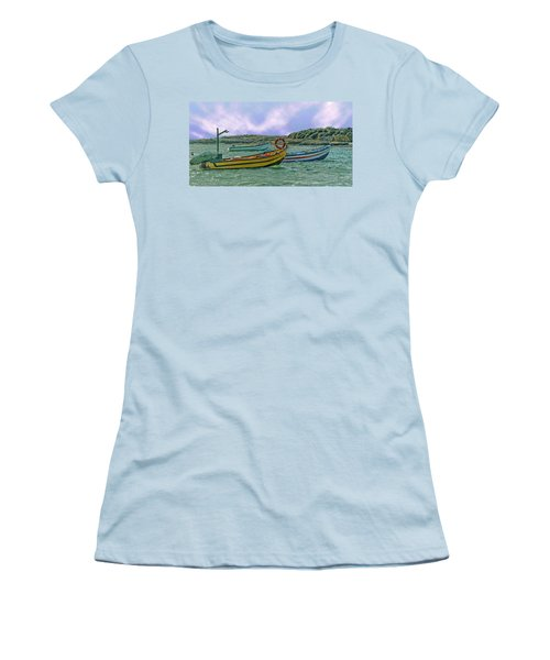 Fishermen's Wharf Women's T-Shirt (Athletic Fit)