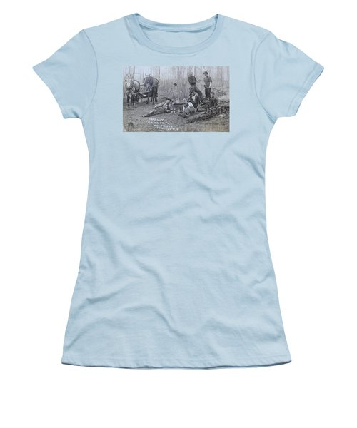 Fishing With The Boys Women's T-Shirt (Athletic Fit)