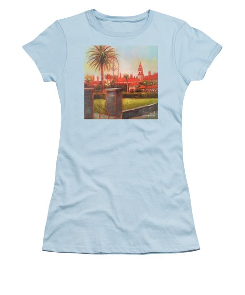 Flagler College Women's T-Shirt (Junior Cut) by Mary Hubley