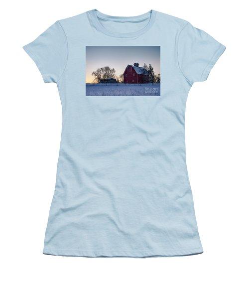 Flathead Valley Dawn Women's T-Shirt (Athletic Fit)