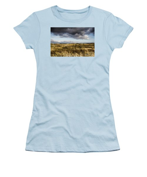 Flinders Ranges Fields V3 Women's T-Shirt (Junior Cut) by Douglas Barnard