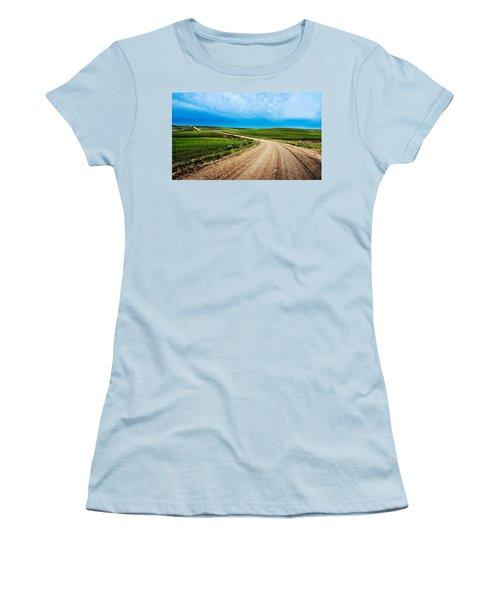 Flint Hills Spring Gravel Women's T-Shirt (Athletic Fit)