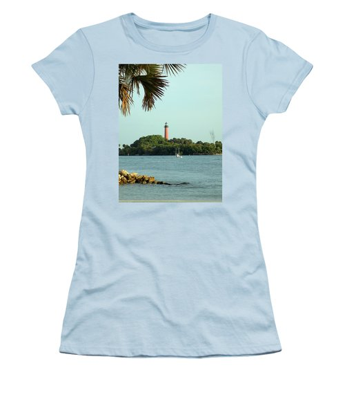 Florida Lighthouse 3 Women's T-Shirt (Athletic Fit)