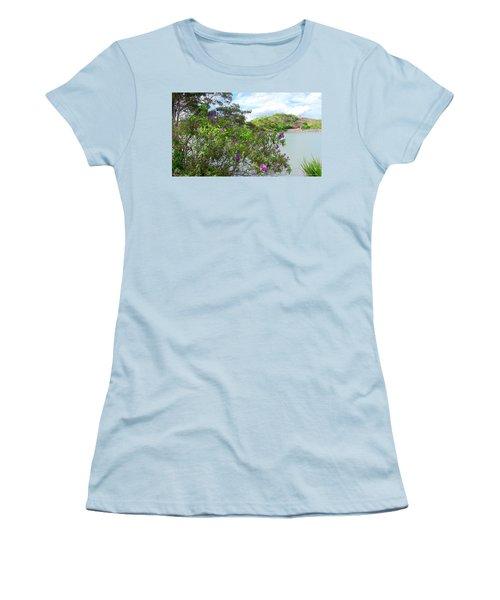 Flowers Women's T-Shirt (Athletic Fit)