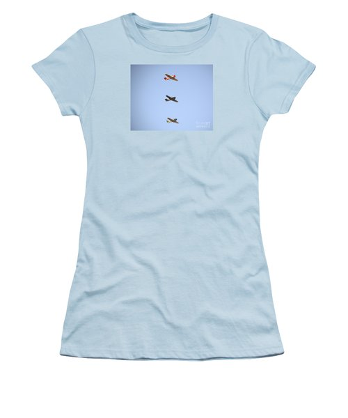 Fly Boys Women's T-Shirt (Athletic Fit)