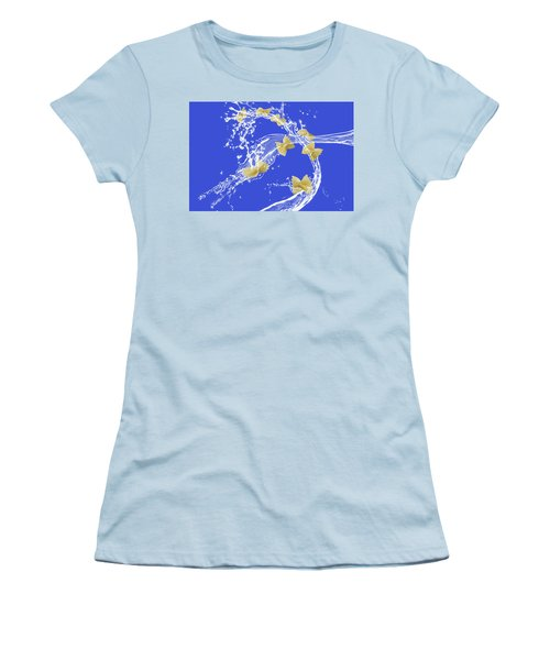 Flying Pasta Women's T-Shirt (Athletic Fit)