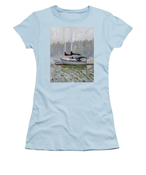 Fogged In Women's T-Shirt (Athletic Fit)