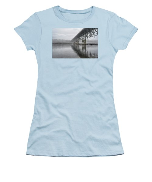 Foggy Reflection Women's T-Shirt (Athletic Fit)
