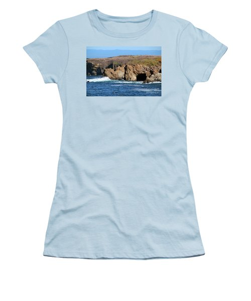 Fort Bragg Mendocino County Women's T-Shirt (Junior Cut) by Wernher Krutein
