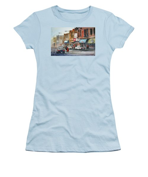 Fox Theater - Steven's Point Women's T-Shirt (Athletic Fit)