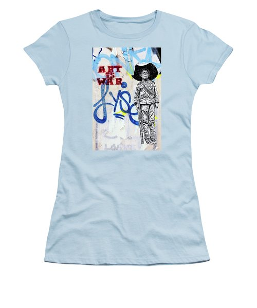 Women's T-Shirt (Junior Cut) featuring the photograph Freedom Fighter by Art Block Collections
