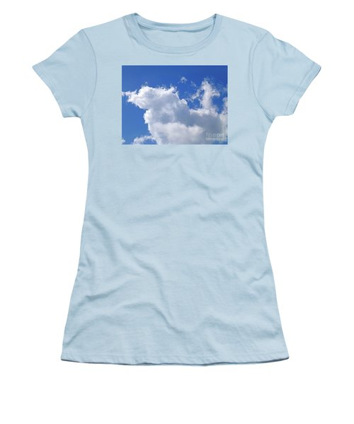 Women's T-Shirt (Athletic Fit) featuring the photograph Freedom by Francesca Mackenney
