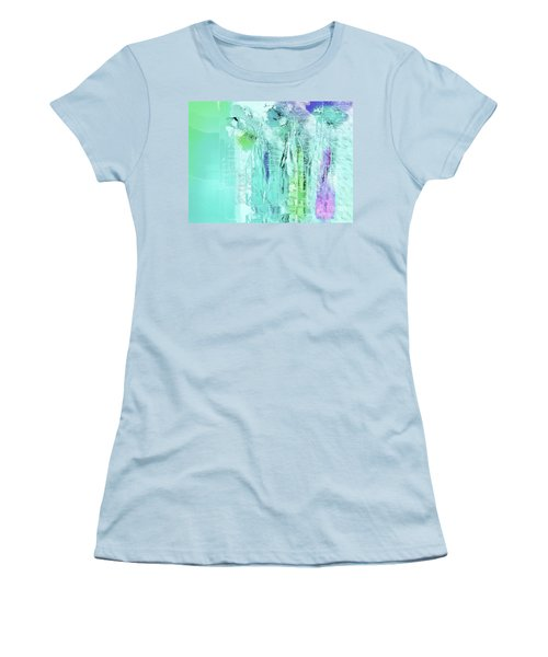 Women's T-Shirt (Junior Cut) featuring the digital art French Still Life - 14b by Variance Collections