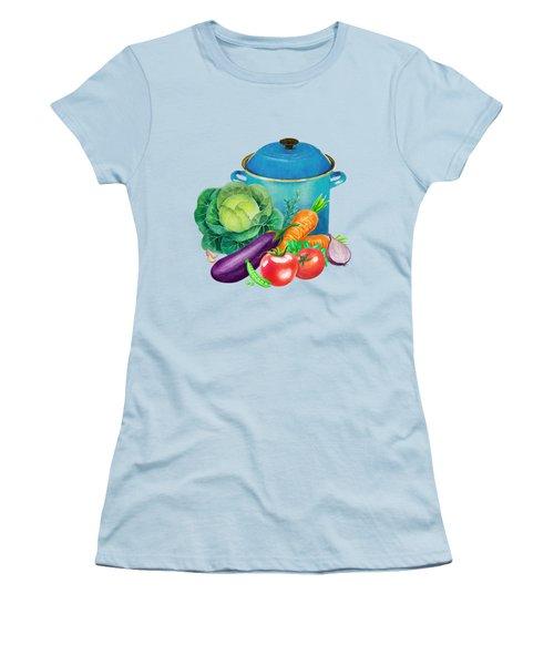 Fresh Vegetable Bounty Women's T-Shirt (Athletic Fit)