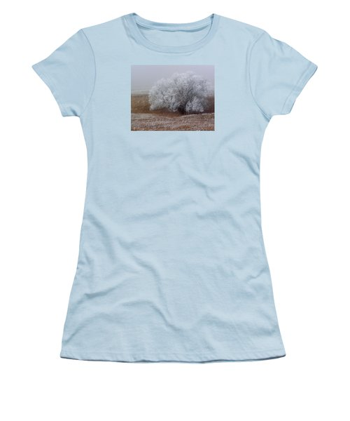 Frost And Fog Women's T-Shirt (Junior Cut) by Alana Thrower