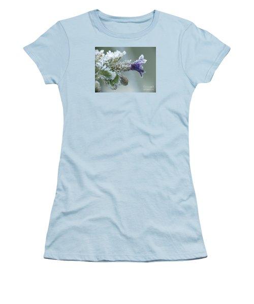 Frosty Flower Women's T-Shirt (Athletic Fit)