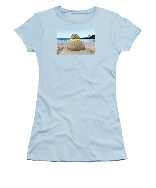 Frosty The Sandman Women's T-Shirt (Athletic Fit)