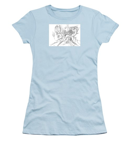 Frozen In Time Women's T-Shirt (Junior Cut) by Charles Cater