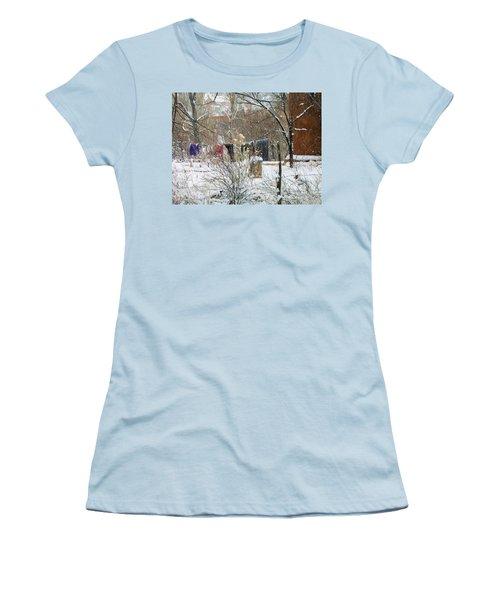 Frozen Laundry Women's T-Shirt (Athletic Fit)