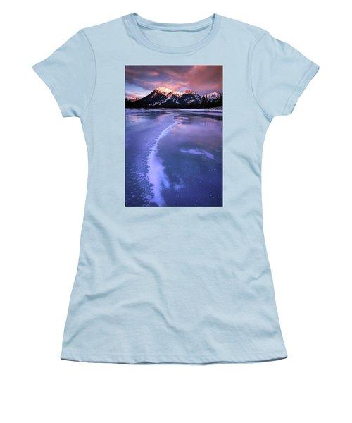Frozen Sunrise Women's T-Shirt (Athletic Fit)