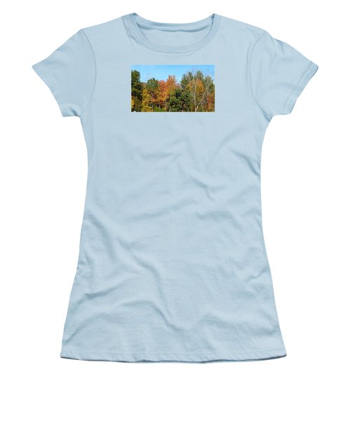 Full Fall Women's T-Shirt (Junior Cut) by Jana E Provenzano