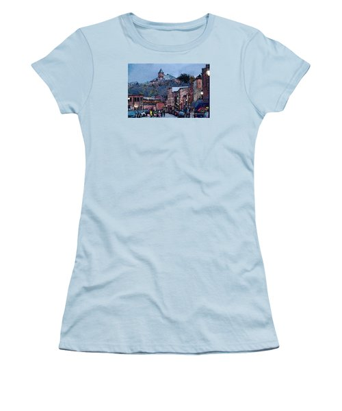 Galena Illinois Women's T-Shirt (Junior Cut) by David Blank