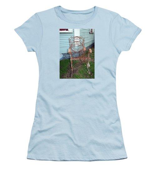 Garden Chair Women's T-Shirt (Athletic Fit)