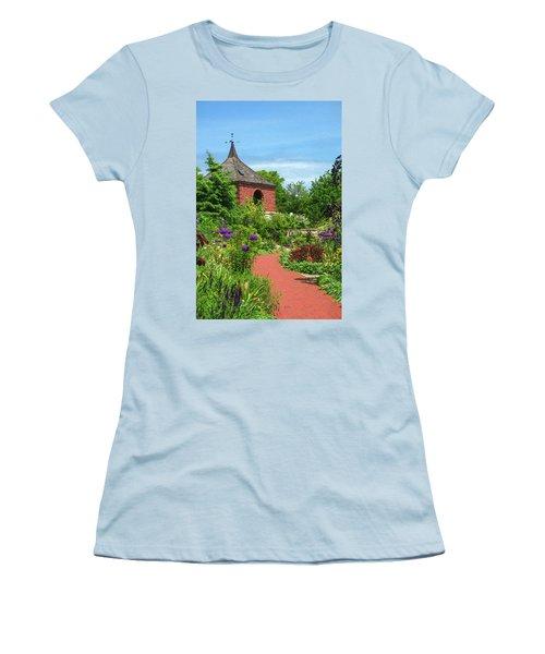 Garden Path Women's T-Shirt (Junior Cut) by Trey Foerster
