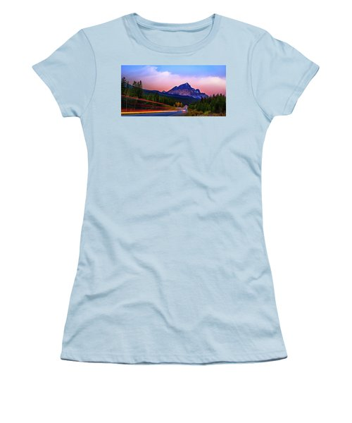 Women's T-Shirt (Junior Cut) featuring the photograph Get Your Motor Running by John Poon