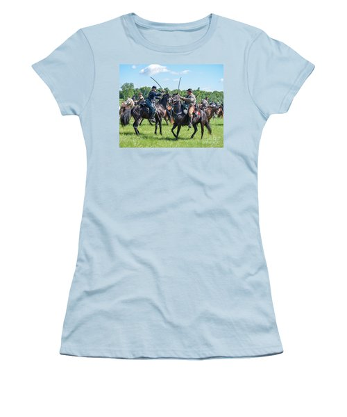 Gettysburg Cavalry Battle 7978c  Women's T-Shirt (Athletic Fit)