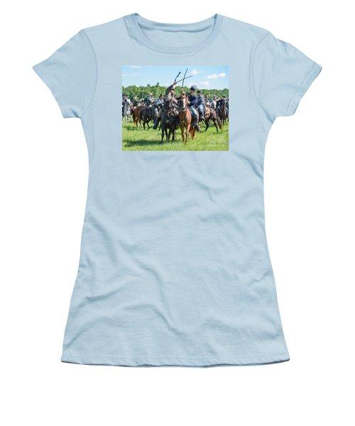 Gettysburg Cavalry Battle 7992c  Women's T-Shirt (Athletic Fit)