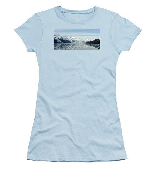 Glacier Bay Reflections Women's T-Shirt (Junior Cut) by Susan Lafleur