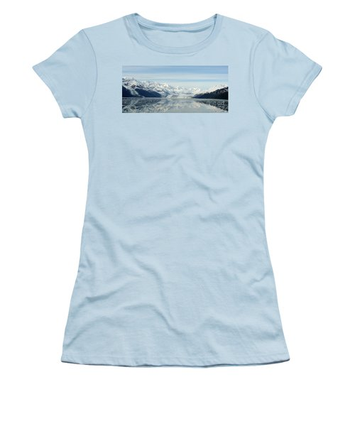 Glacier Bay Reflections Women's T-Shirt (Athletic Fit)