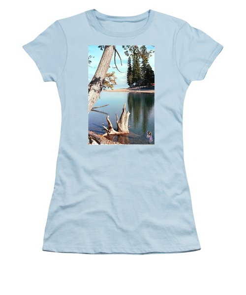 Glacier National Park 4 Women's T-Shirt (Athletic Fit)