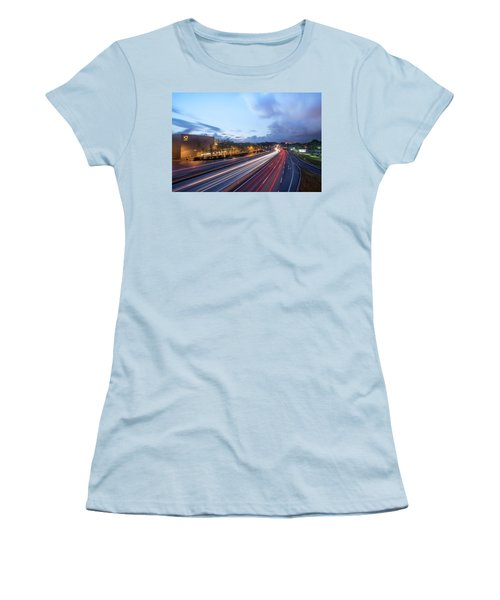 Going Somewere Women's T-Shirt (Athletic Fit)