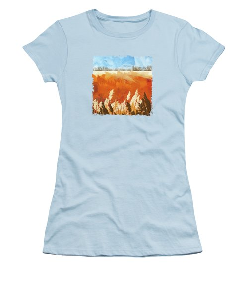 Golden Afternoon Women's T-Shirt (Athletic Fit)