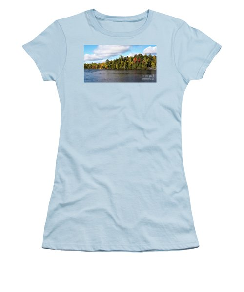Golden Autum Day Women's T-Shirt (Junior Cut)
