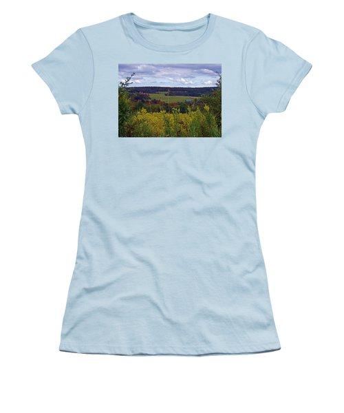 Golden Days Women's T-Shirt (Athletic Fit)