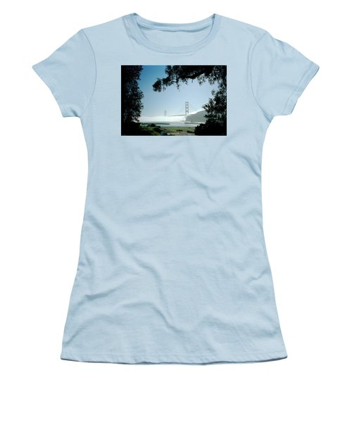 Golden Gate Fog  Women's T-Shirt (Athletic Fit)