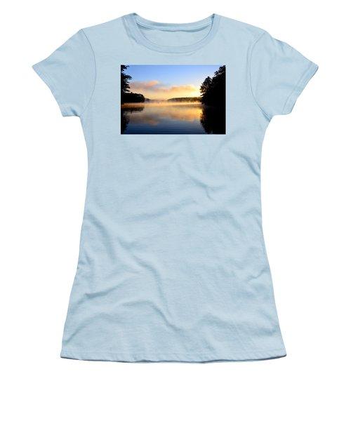 Golden Mist Women's T-Shirt (Athletic Fit)
